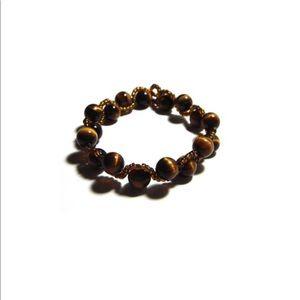 Jewelry - Tiger Eyes Swirly Bracelet